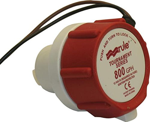 Rule 46DR, Replacement Motor Cartridge for Tournament Series Livewell Pumps, 800 GPH - Tournament Series