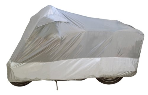 -00 UltraLite Water Resistant Indoor/Outdoor Motorcycle Cover: Grey, Large ()