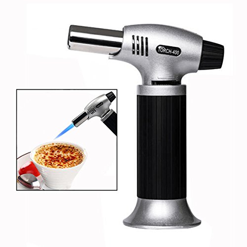 Itian Kitchen Blow Torch Refillable Blowtorch for Creme Brulee Cooking...