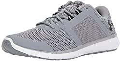Under Armour Men's Fuse Fst, Steel (100)white, 12
