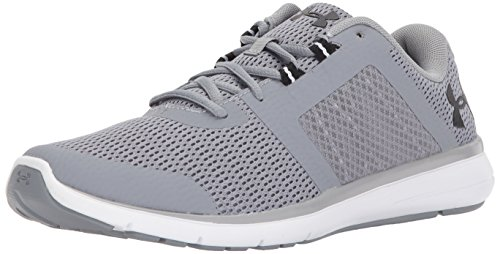 Under Armour Men's Fuse FST, Steel (100)/White, 13 Review