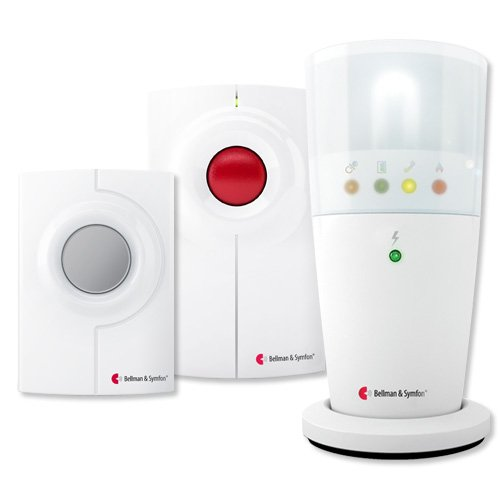 Bellman & Symfon Visit Kit with Flash Receiver for Phone & Doorbell (BE8004)