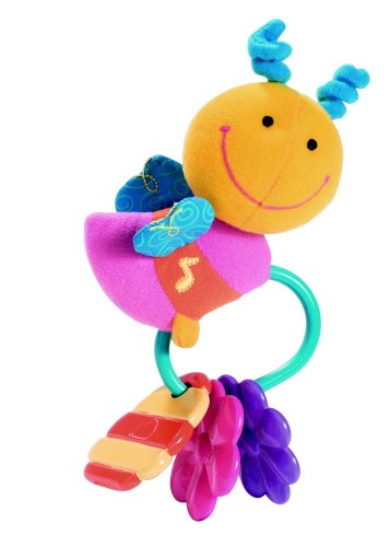 Bumble Bee Rattle - The First Years Nature Sensations Baby Bumblee Musical Rattle