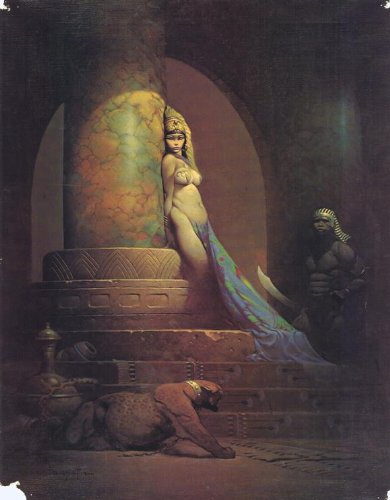 Frank Frazetta Movie Poster - Style B by postersdepeliculas