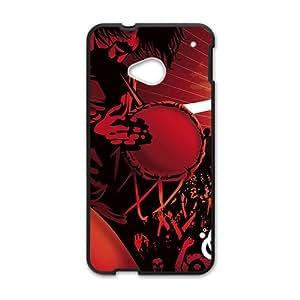 KJHI denver nuggets logo Hot sale Phone Case for HTC ONE M7 Black