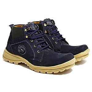 Al Nabeel Blue Safety Boot For Men