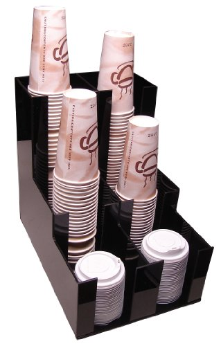 Cup Lid Holder Dispenser Coffee Cup Beverage Caddy