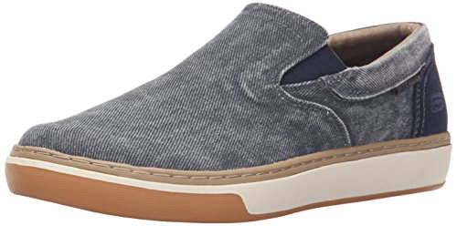 Skechers Usa Menns Palen Tiago Slip-on Dagdriver Navy