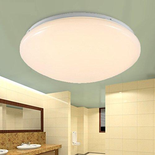 ETiME LED Deckenleuchte 9W Esszimmer Lampe ø225mm Garderobe ...