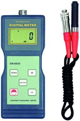 Smart Meter CM-8820 Paint Coating Thickness Meter Gauge F Probe 0 2000 um