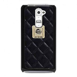 Luxury Brand LG G2 Moschino Phone Case,Moschino Pattern Luxury Logo Back Cover For LG G2