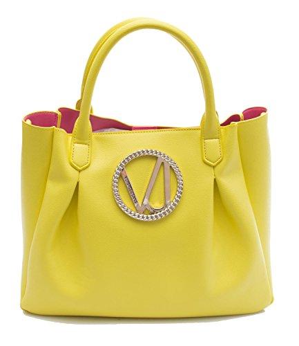 Versace , Damen Schultertasche gelb gelb