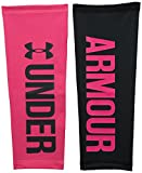 Under Armour Women's Graphic Compression Calf Sleeves, Harmony Red (962)/Anthracite, X-Small/Small