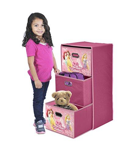 Disney Princess Foldable 3 Drawer Organizer product image