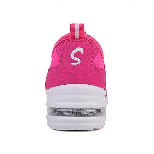 D2c Skönhet Kvinna Mesh Slip-on Andas Dans Sneakers Hot Pink