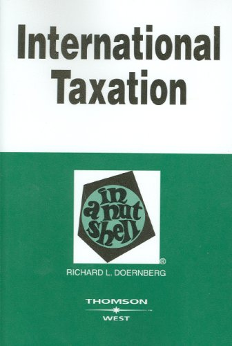[E.B.O.O.K] International Taxation in a Nutshell, (In a Nutshell (West Publishing)) E.P.U.B