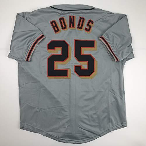 Unsigned Barry Bonds San Francisco Grey Custom Stitched Baseball Jersey Size Men's XL New No Brands/Logos