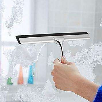 Para casa Limpiador Paulclub aleación de zinc de cristal de limpieza del limpiador de la ventana Cepillos: Amazon.es: Hogar