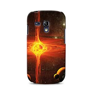 Diabloskinz D0106-0029-0001 - Carcasa para Samsung Galaxy S3 Mini, diseño de supernova