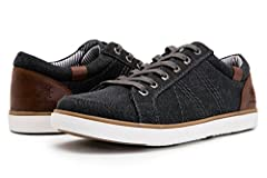 Be comfortable at any occasion with the classic boat shoe! Featuring leather upper, lace up design for a secure hold, and Air-mesh detailing on side for added cool, breathable comfort around the foot. Finished with smooth faux leather Lining,...