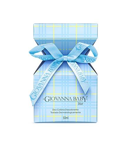Linha Tradicional Giovanna Baby - Deo Colonia Blue 50 ml - (Giovanna Baby Classic Collection - Blue Eau de Cologne 1.69 Fl Oz.) ()