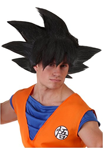 Adult Goku Dragon Ball Z Black Synthetic Wig Standard
