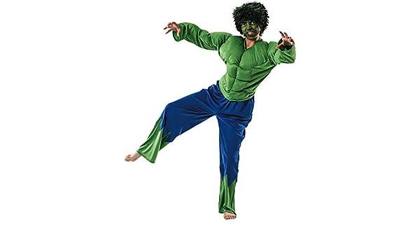 Otros Disfraz de forzudo Verde. 8-10 años.: Amazon.es: Productos ...