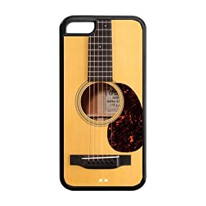 Funny Vintage Classic Guitar Best Durable Artsy Cases Cover for iPhone 5c by icecream design