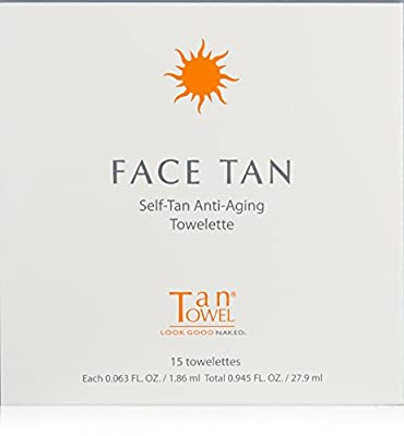 Tan Towel Face Tan 15 Count