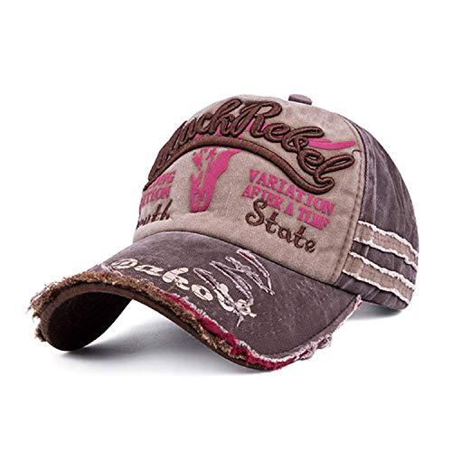 野球帽 男性女性 スポーツ帽子 ユニセックス スボーンキャップ,コーヒー