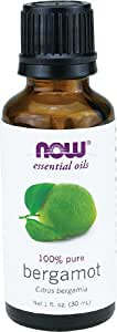 NOW Solutions Bergamot Essential Oil, 1-Ounce