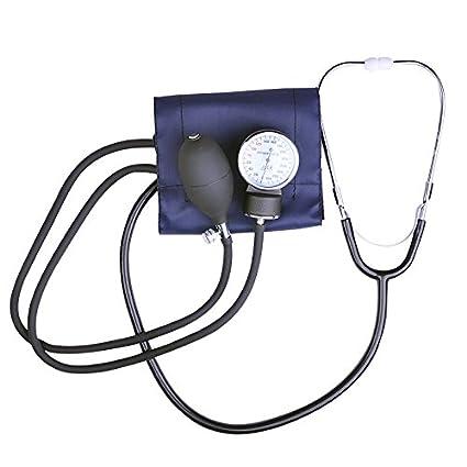 Denshine precisión manguito de presión arterial Monitor y estetoscopio Set – Tensiómetro aneroide