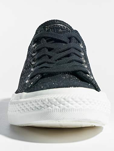 metallic 001 black Black Ox Multicolore Taylor Ctas egret Basses Chuck Sneakers Femme Converse zZ8WAZ