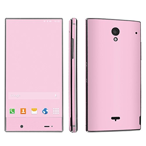 Sharp Aquos Crystal Phone Skin - [SkinGuardz] Full Body Scratch Proof Vinyl Decal Sticker with [WallPaper] - [State Pink] for Sharp Aquos Crystal (Sharp Aquo Crystal Cases compare prices)