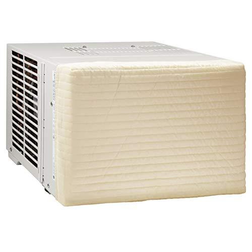 HomeCrate Quilted Indoor Air Conditioner Cover, Double Insulation, Medium