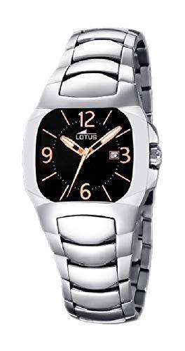 LOTUS CODE 15513/J- RELOJ DE SEÑORA DE CUARZO, CAJA Y CORREA DE ACERO INOXIDABLE: Amazon.es: Relojes