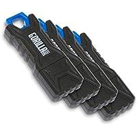 GorillaDrive 4 Pack 16GB Ruggedized USB Flash Drive