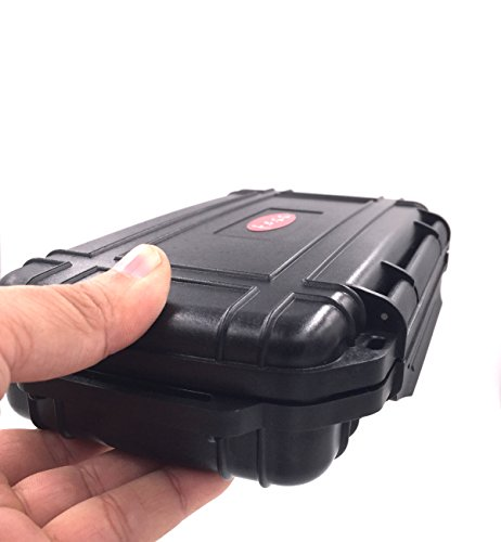 F.e.s.s Fess Odor Resistant Case 8.5'' x 4.5'' Travel Storage Stash Box Container - Fits Stash Jar , Grinder , Raw Cone or Papers, Lighter and More Accessories by F.E.S.S. (Image #5)