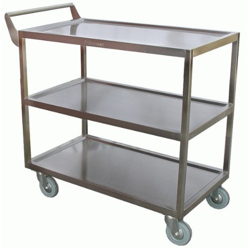 "Allstrong stainless steel heavy duty bus cart 18""x 34-1/2""x 31-1/2""H.C-4222 NSF"