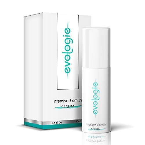 Evologie Intensive Blemish Acne Serum | Patented YS3 Technology Helps Clear Acne, Dark Spots & Scars | 0.5 Fl. Oz. (The Best Serum For Acne Scars)