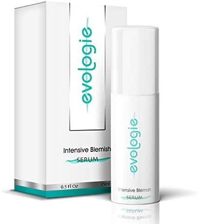 Evologie Intensive Blemish Acne Serum | Patented YS3 Technology Helps Clear Acne, Dark Spots & Scars | 0.5 Fl. Oz.