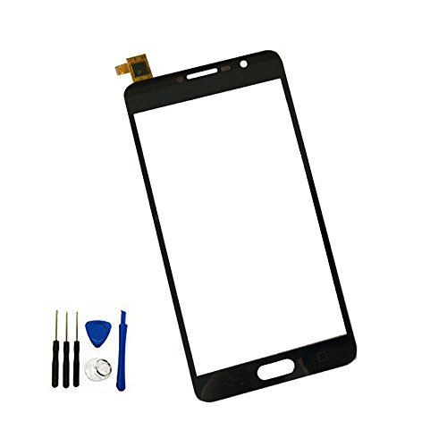 Touch Screen Digitizer Glass Panel lens For Alcatel One Touch Pop 4S 5095 5095B 5095I 5095Y 5095K / Flash Plus 2 Black
