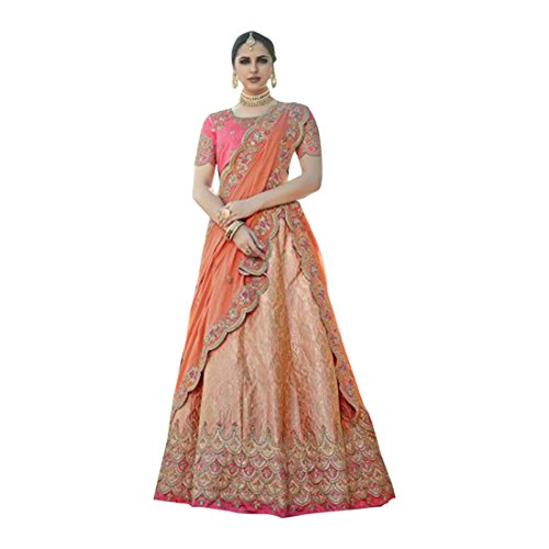 indossare lehenga emproum kameez abito tradizionale salwar sposa misurare donne per 2741 dupatta EMPORIUM da anarkali ETHNIC nozze la di choli seta personalizzato etnica indiana Ethnic festa XqREB6