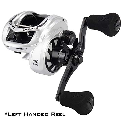 KastKing Kapstan Elite Baitcasting Fishing Reel,Size 300,Left Handed Reel