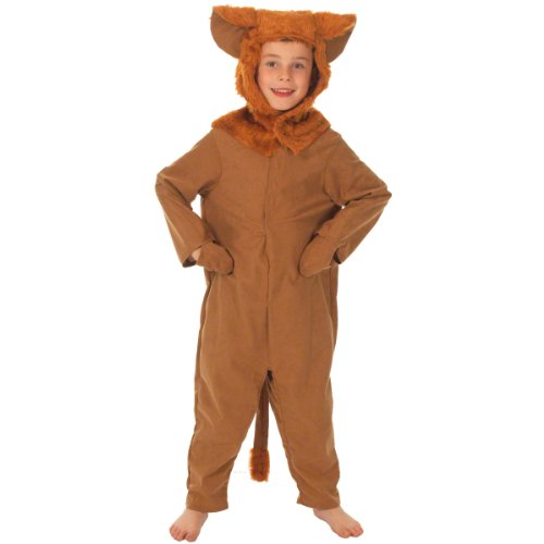 Charlie Crow Lion Costume for Kids 3-5 Years Brown ()