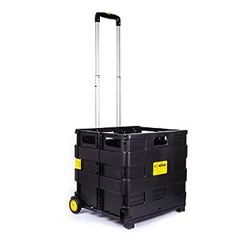 Carbest – Carrito de transporte plegable para botellas de gas, soporta hasta 35 kg para caravana y autocaravana: Amazon.es: Coche y moto
