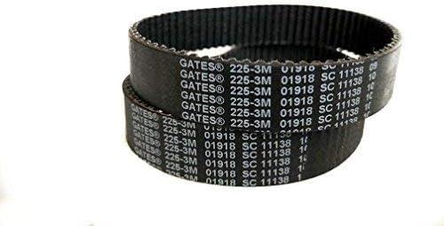 GATES 225-3M-15 Belt  Fits Boosted Board V2--Belt Made in USA