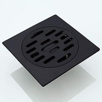 Amgend Cuarto De Baño Negro Desagüe De Piso 304 Acero Inoxidable ...