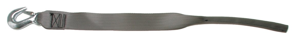 BoatBuckle F07674 2 x 20 Winch Strap with Tail End