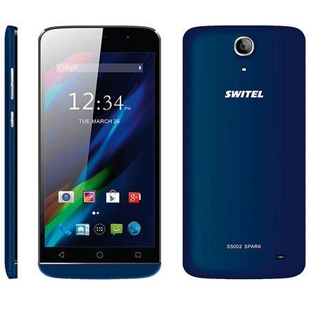 SWITEL Smartphone 12,7cm 5Zoll mit Dual SIM 1x Standard 1x Micro SIM QUAD BAND GSM Android 4.4 micro SD Card Buchse camera 8mp Bluet
